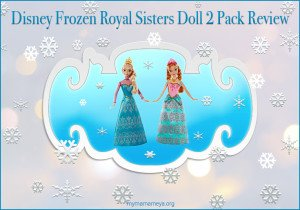 Disney Frozen Royal Sisters Doll 2 Pack Review