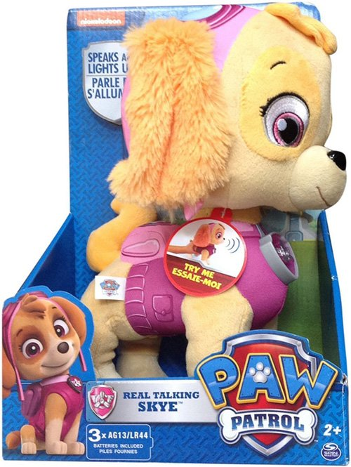 PAW Patrol Talking Skye Plush Pup