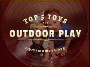 Top 5 Toys for Outdoor Play