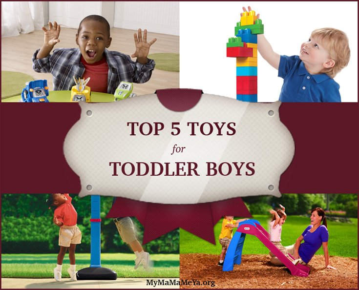 Top 5 Toys For Toddler Boys