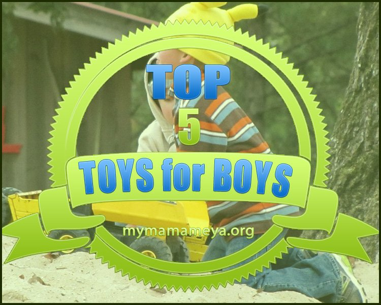 Top 5 Toys for Boys