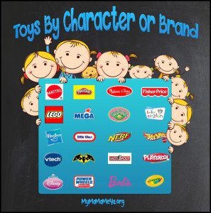 toys by character or brand