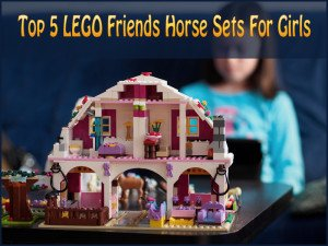 LEGO Friends Horse Sets Fore Girls