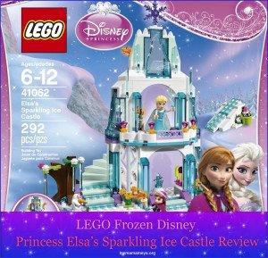 Lego Frozen Disney Princess Elsa's Sparkling Ice Castle
