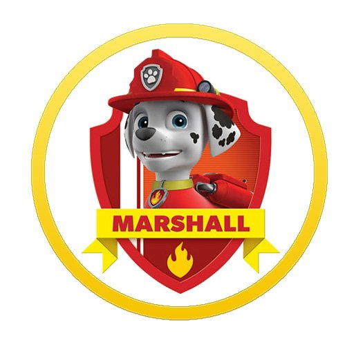 Marshall Paw Patrol Characters