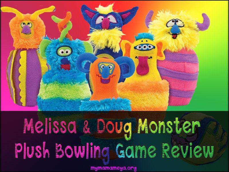Melissa & Doug Monster Plush Bowling Game Review