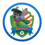 Rocky Paw Patrol Characters