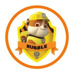Rubble Paw Patrol Characters