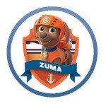 Zuma Paw Patrol Characters