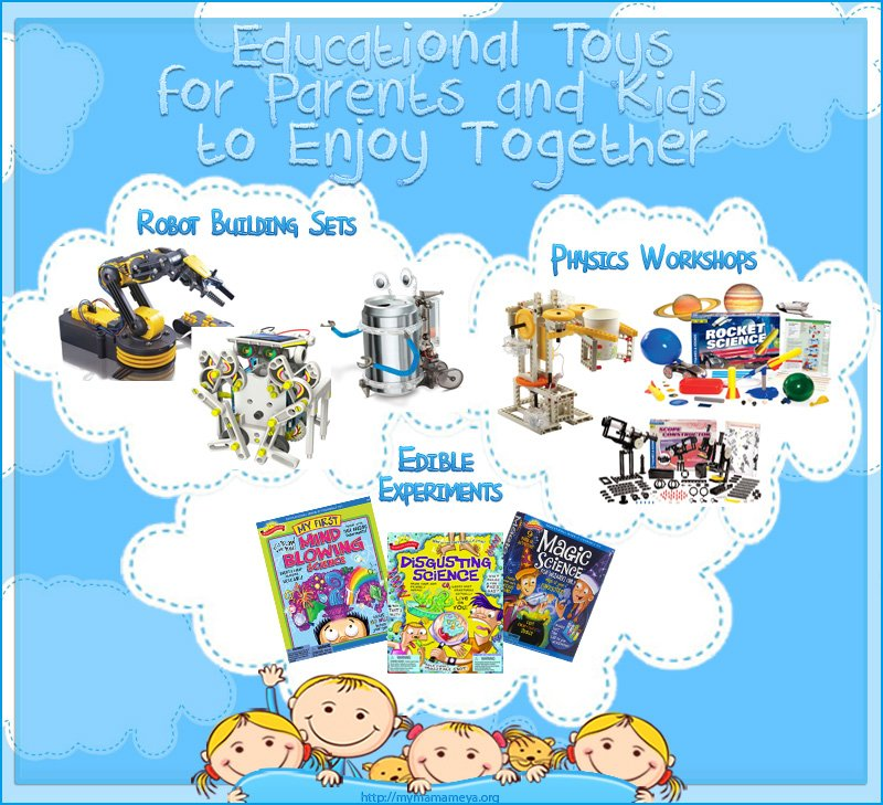 Educational Toys For Parents and Kids to Enjoy