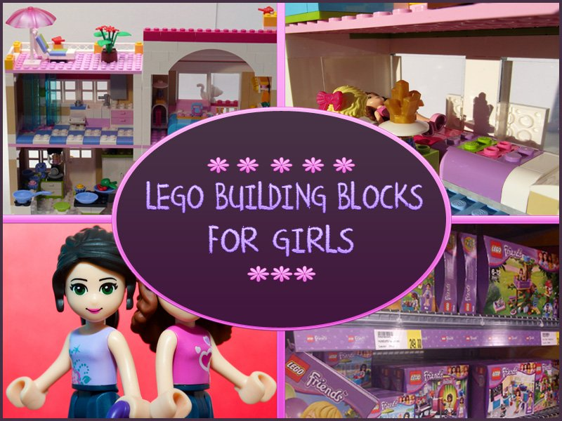 Lego Building Blocks For Girls