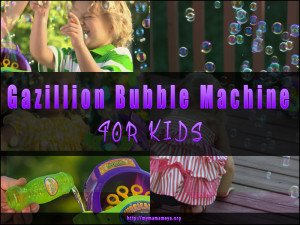 Gazillion Bubble Machine for Kids Review