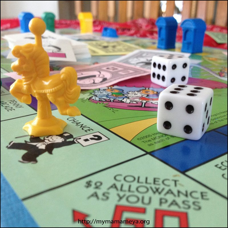 monopoly junior board games