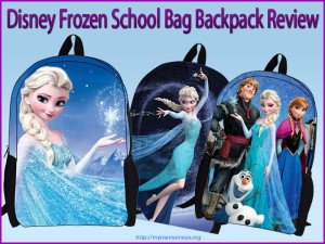 Disney Frozen School Bag Rucksack Backpack Review