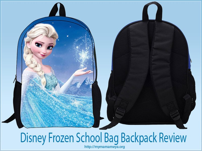 Frozen School Bag Rucksack Backpack Review