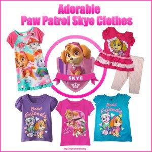 Paw Patrol Skye Clothes