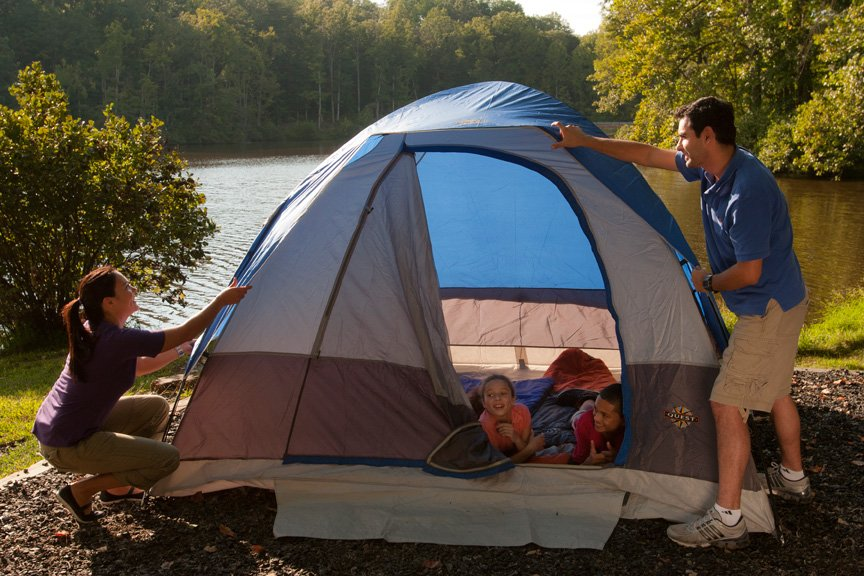camping outdoor family activities