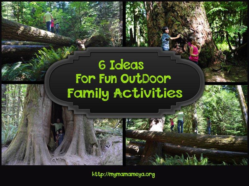 fun outdoor family activities