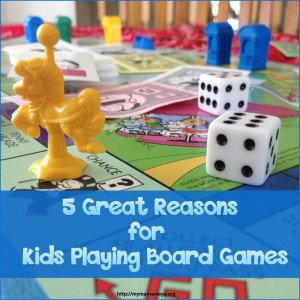 5 Great Reasons for Kids Playing Board Games