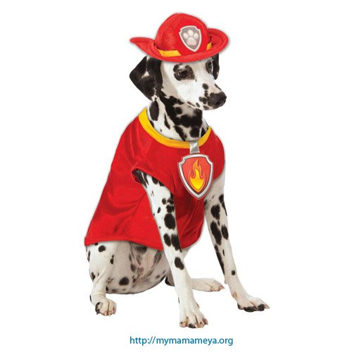 Marshall Paw Patrol Costumes For Dogs