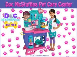 Doc McStuffins Pet Care Center for Little Veterinarians