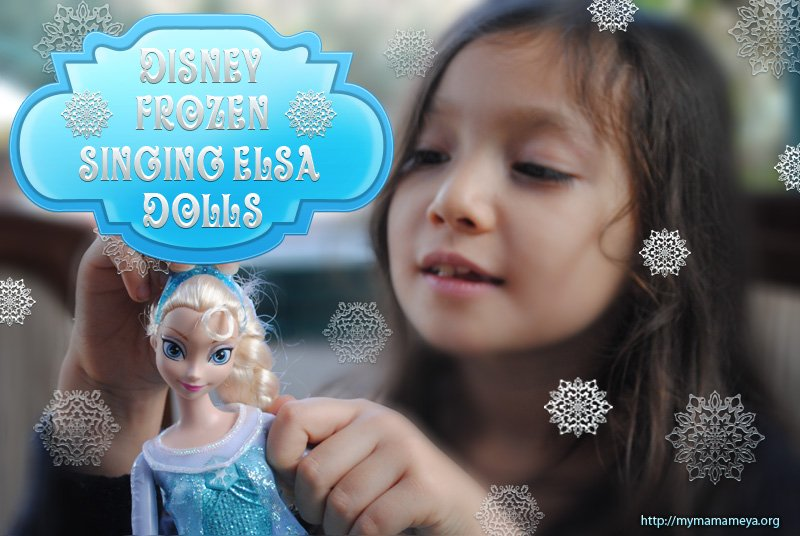 Disney Elsa Frozen Singing Doll