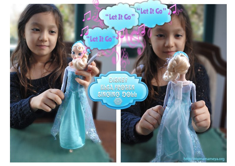 elsa frozen singing doll