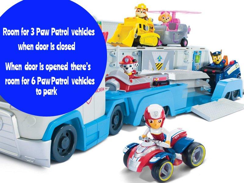 Paw Patrol Patroller Toy Transport