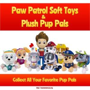 Paw Patrol Soft Toys Plush Pup Pals