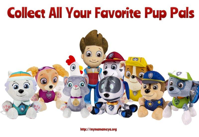 Paw Patrol Toys Marshall Plush Toys Pup Pals