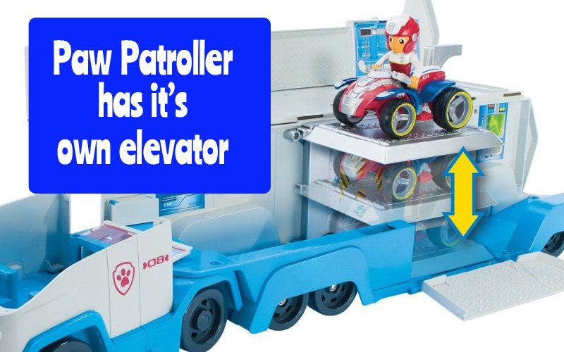 Paw Patroller Elevator