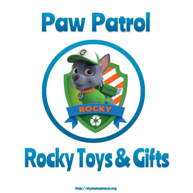 PAW Patrol Rocky Toys