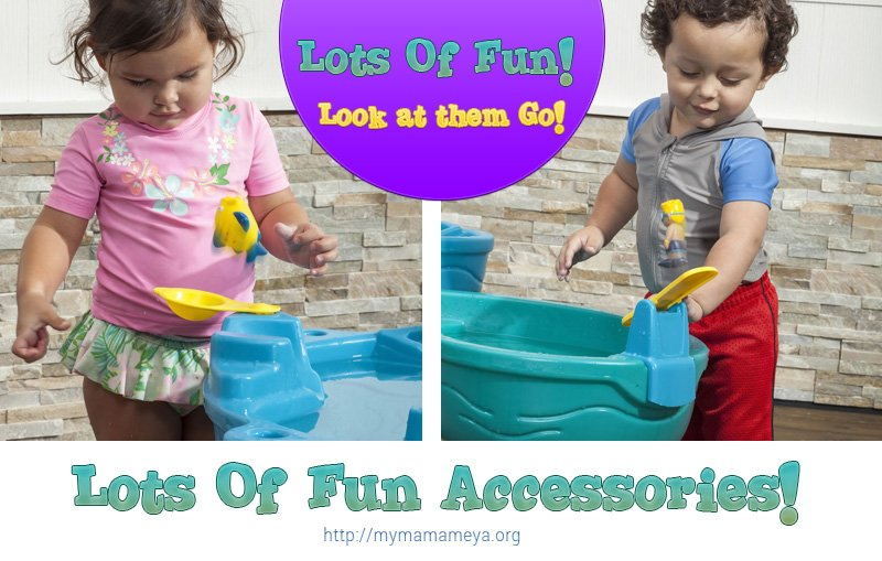 Spill & Splash Seaway Water Table Fun accessories