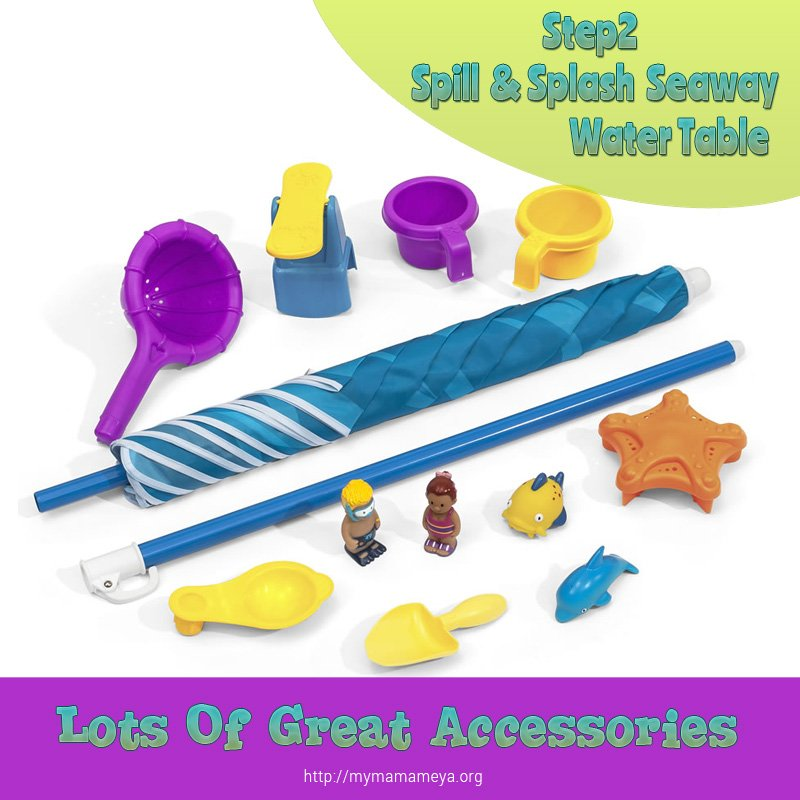 Step2 Spill Splash Seaway Water Table accessories