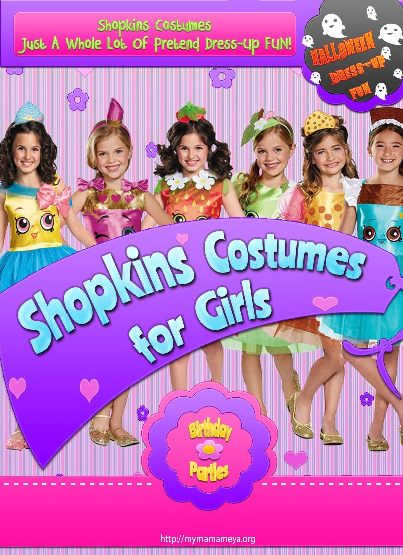 Shopkins Costumes For Girls