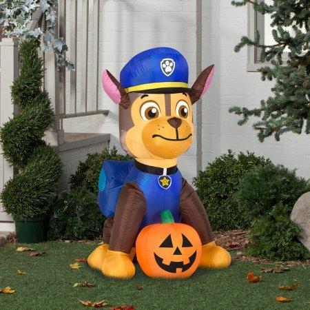 chase paw patrol halloween inflatable yard decorations - Halloween Inflatable Yard Decorations