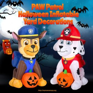 PAW Patrol Halloween Inflatable Yard Decorations