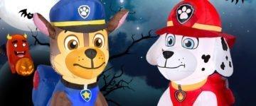 Paw Patrol Halloween Inflatable Yard Decorations