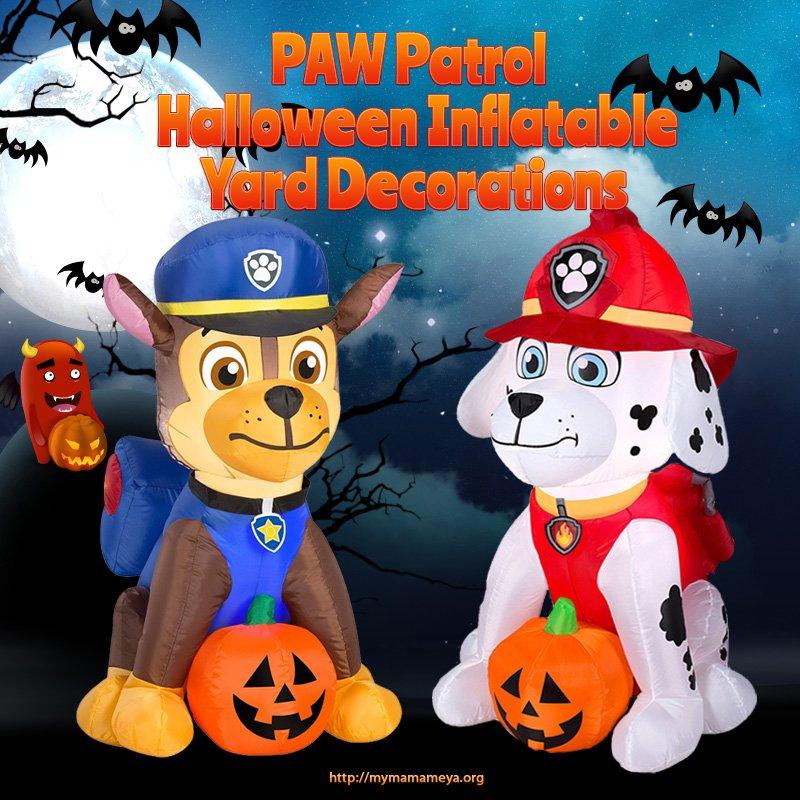 PAW Patrol Halloween Inflatable Yard Decorations ...