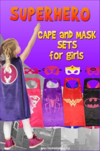 Superhero Cape For Girls
