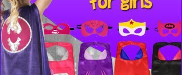 Superhero Cape For Girls
