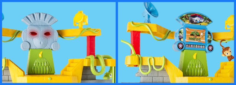 Paw Patrol Monkey Temple 2 toys in one