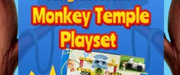 Paw Patrol Monkey Temple Playset