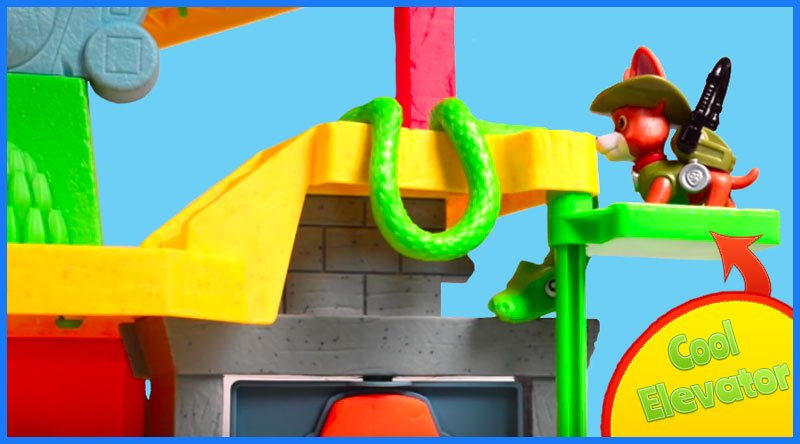 Paw Patrol Monkey Temple cool elevator
